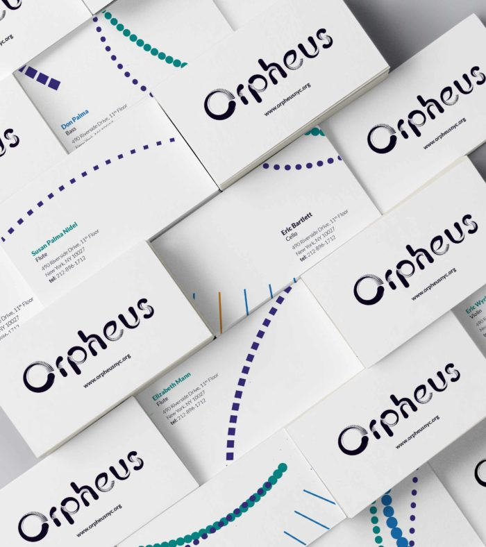 Orpheus Business Cards